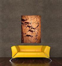 Poster impression photo culture histoire peintures rupestres LASCAUX FRANCE seb924