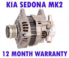 KIA SEDONA MK2 MK II (GQ) 2.9 CRDI MPV 2001 2002 2003 - 2015 ALTERNATOR