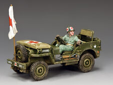DD293 U.S. Army Medics Jeep by King & Country