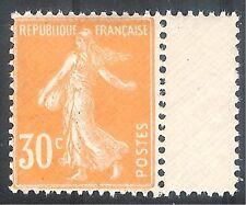 France 1907 Sower orange 30c mint SG343