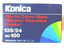 1 x KONICA CHROME 100 COLOUR 35mm SLIDE FILM EXPIRED 1987  LOMOGRAPHY FILM