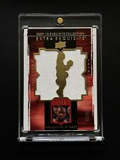 2009 Exquisite Extra Shaquille O'neal Dual Gold Jumbo Jersey Lakers Non-auto