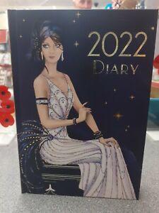 Art Deco A5 2022 Hard Back Diary