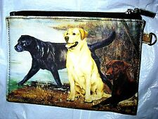 LABRADOR RETRIEVER   Zippered Pouch by Maystead / full color design both sides