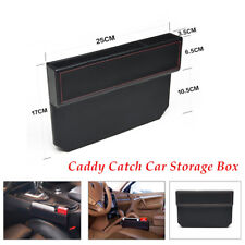 1PC Car Seat Gap Filler Side Console Slit Caddy Catcher Storage Box Functional