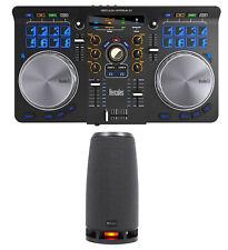 Hercules Universal DJ USB MIDI Bluetooth DJ Controller w/Pads+Interface+RockShip