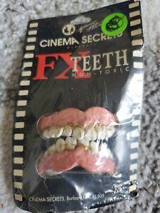 Cinema Secrets vintage FX Teeth halloween costume professional movie prop new