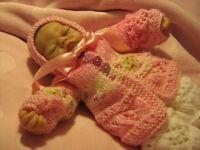 Honeydropdesigns * EMMY * PAPER KNITTING PATTERN * 10 Inch Reborn/Micro Preemie