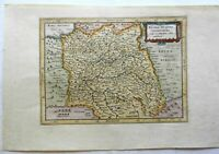 France Picardie Champagne County Map 1697 engraved map