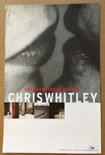 CHRIS WHITLEY 2005 Rare THICK STOCK PROMO POSTER for Soft CD USA 11 x 17