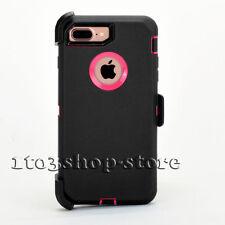 iPhone 7 Plus & iPhone 8 Plus Case w/Belt Clip (Holster Fits Otterbox Defender)