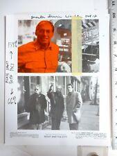 Vintage Press Wire Photo Robert De Niro Jessica Lange Irwin Winkler Film 1992