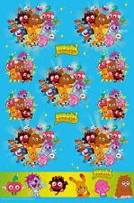 MOSHI MONSTERS CHILDRENS BIRTHDAY PARTY PLASTIC TABLE CLOTH NEW