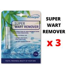 Fast Wart Remover, papillomas,  man & woman candiloma Remover 1.2 ml х 3 pcs