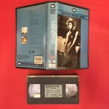 (VHS) MADONNA (Warner 1984) LIKE A VIRGIN - BORDERLINE - BURNING UP - LUCKY STAR
