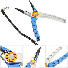 7.9'' Aluminum Fish Plier Fishing Pliers Tackle Tool Hook Remover Line Tool