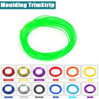 5m Car Flexible Interior Moulding Decor Strip Trim Line Green adorn  0303 1x