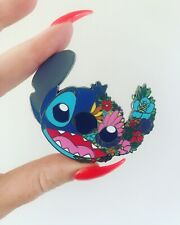 Stitch Fantasy Pin Disney Trading Pin Flowers Floral Limited Edition LE