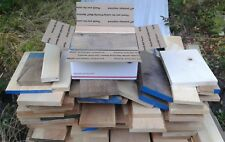 Hardwood lumber scraps Walnut Oak Maple Cherry Alder Hickory wood crafts turning