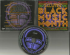 PROMO CD w/ TEVIN CAMPBELL Quincy Jones SNOOP DOGG Busta Rhymes BONEY JAMES Silk