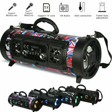 Wireless bluetooth  Portable  Speaker Super Bass Stereo Radio HIFI FM TF AUX USB