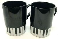 Fitz & Floyd Fine Porcelain PIANO Cup/Mug Japan 242