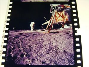 NASA APOLLO MISSION 1st GENERATION FROM MASTER 70mm NEGATIVE