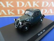 Die cast 1/43 Modellino Auto Fiat 500 A 1936 Topolino verde