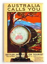 Australia Travel Fridge Magnet (2.5 x 3.5 inches) poster
