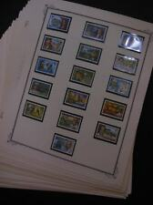 CHRISTMAS ISLAND : A Beautiful, all VF MNH collection on album pages. Cat $1,350