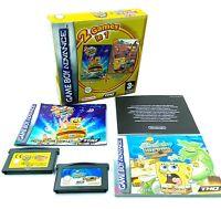 2 Jeux Bob l'éponge Movie + Freeze Frame Frenzy - Game Boy Advance GBA - PAL