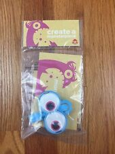 Wendy's Kids Meal Create A Monsterpiece Monster Hand Toy 2016 New