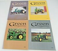 Lot 4 Green Magazine Monthly for John Deere Enthusiasts Apr - Jul 2002 3 Issues