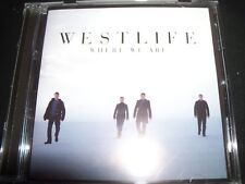 WESTLIFE Where We Are (Australia) CD - Like New