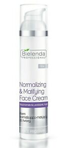 Bielenda Normalising Matting Face Cream with Niacinamide Lactobionic Acid 100ml