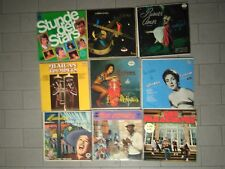 Lotto misto dischi vinile 33 giri Nat King Cole Pedro Infante no rock no prog