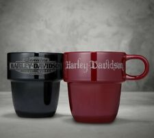 Harley-Davidson Tasse à café 2er Set stappelbar 425 ml Gobelet Tasse * 96899-18v*