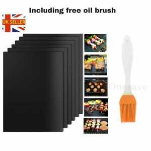 BBQ Grill Mat Non-Stick Oven Liners Teflon Cooking Baking Barbecue Reusable PAD