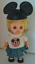 Vintage Horsman Mickey Mouse Doll 1972