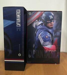 Hot Toys MMS 240 Captain America 2 Steve Roger (Golden Age Version) new