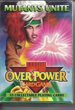 Over Power Mutants Unite Card Game Booster Box 55 Cards