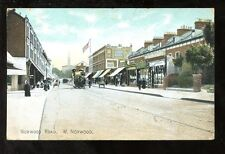 London Norwood Rd used 1907 PPC horse tram