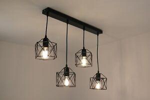 lampadario moderno vintage industrial a sospensione cucina camera da letto E27