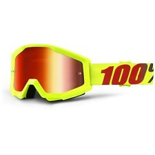 iridium giallo Snowboard Supermotard Sci Occhiali da motocross MTB Offroad Enduro
