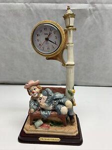 Crosa The Morello Collection Quartz Circus Clown Clock KG
