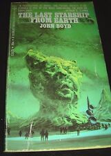 The Last Starship From Earth By John Boyd March 1969 Berkley Paperback