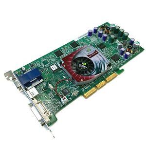 NVIDIA GeForce4 Ti 4600 128MB AGP 4x Video Graphics Card Dell 04N458