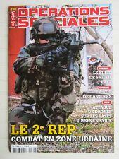 OPS N° 30 /Le 2è RP,combat en zone urbaine/fusil de sniper FRF2/FOB de Canjuers