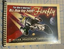 Firefly Serenity Manual, Cutaway Images, New in Wrapper, Loot Crate