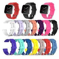 Silicone Smart Watch Band Wrist Strap Replacement for Fitbit Versa Lite/Versa GW